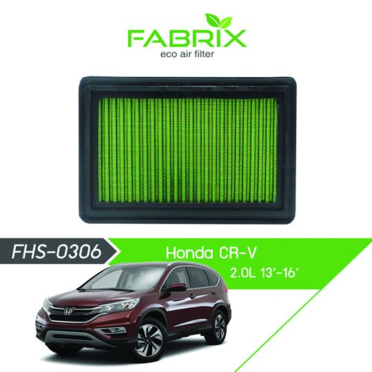 FABRIX FHS-0306 Eco Air Filter For Honda CRV 2.0L (2013 - 2016)