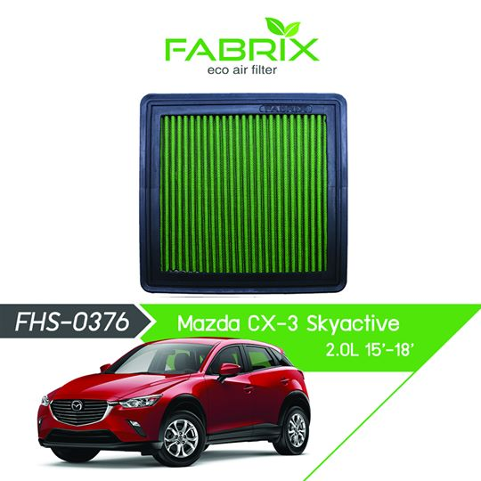 FABRIX FHS-0376 Eco Air Filter For Mazda CX3 Skyactive (2015 - 2018)