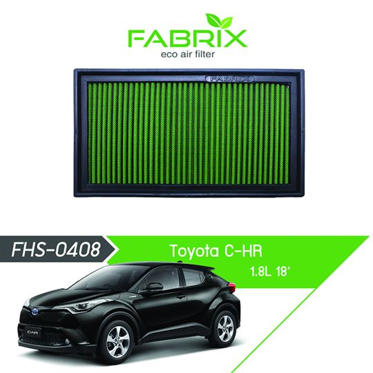 FABRIX FHS-0408 Eco Air Filter For Toyota C-HR 1.8L (2018)