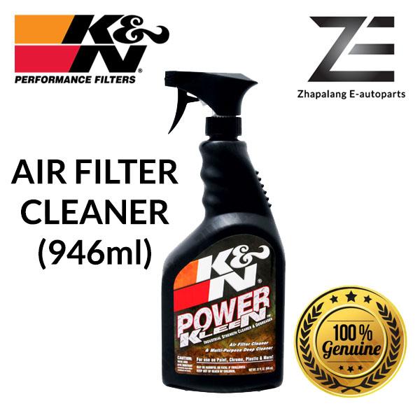 K&N Power Kleen Air Filter Cleaner & Degreaser - 32 oz. Squirt Bottle