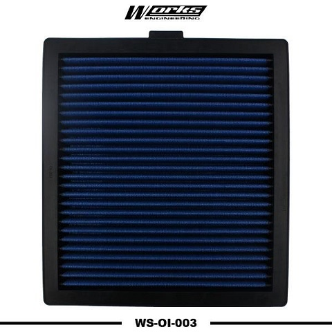Works Engineering Replacement Filter  Isuzu Dmax 2.5 / 3.0 \'12-on