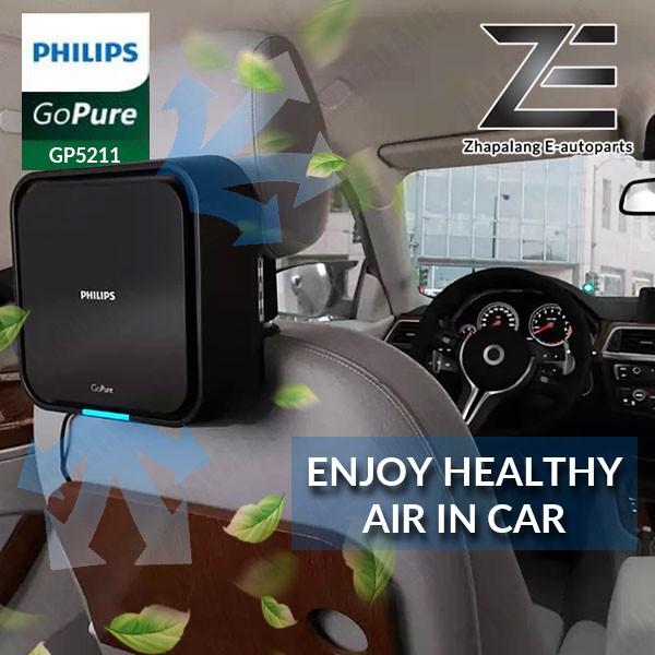 Philips GoPure 5211 Car Air Purifier GP5211 - GP521BLKX1