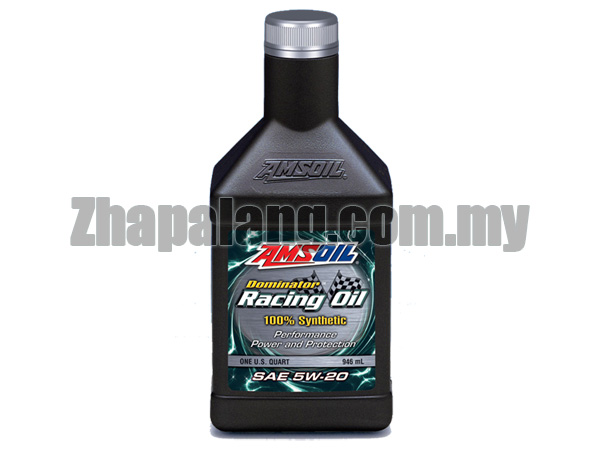 Amsoil Dominator 5W20 Synthetic Racing Oil