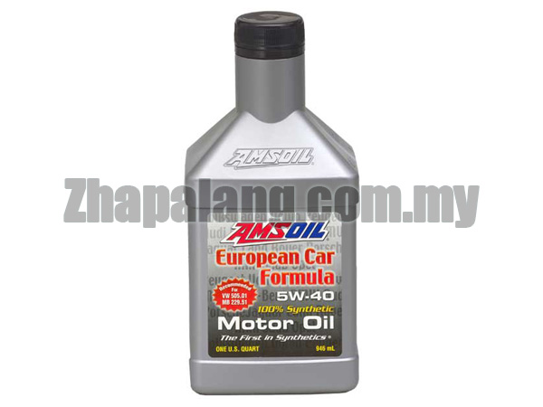 Amsoil European Car Formula 5W40 Full SAPS 100% Synthetic (1Q)