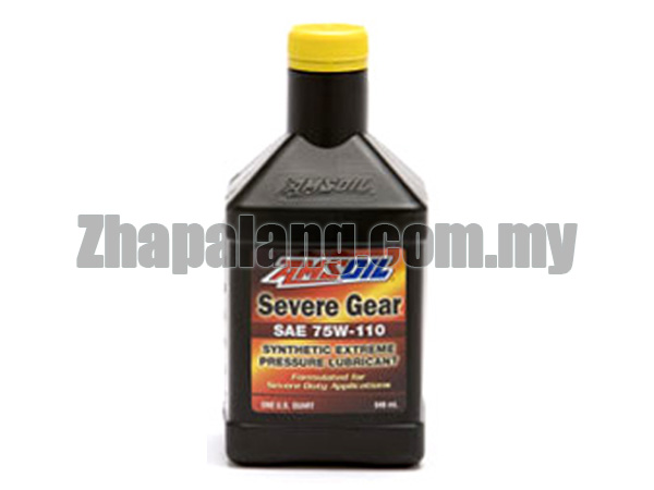 Amsoil Severe Gear Synthetic Extreme Pressure (EP) Gear Lube 75W110