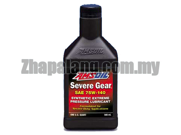 Amsoil Severe Gear Synthetic Extreme Pressure (EP) Gear Lube 75W140