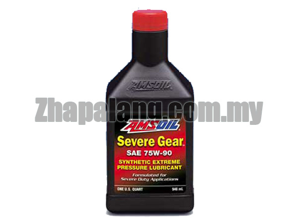 Amsoil Severe Gear Synthetic Extreme Pressure (EP) Gear Lube 75W90