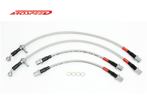 AROSPEED Steel Braided Brake Hose Perodua Myvi 1.3