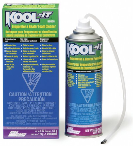Lubegard 96030 Kool-It Evaporator and Heater Foam Cleaner 170g