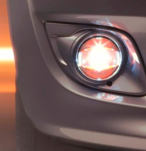 Osram LEDriving FOG Light PL 103 OG(Orange)