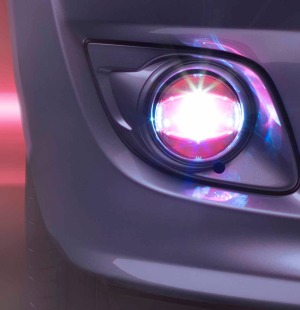 Osram LEDriving FOG Light PL 103 PK(Pink)