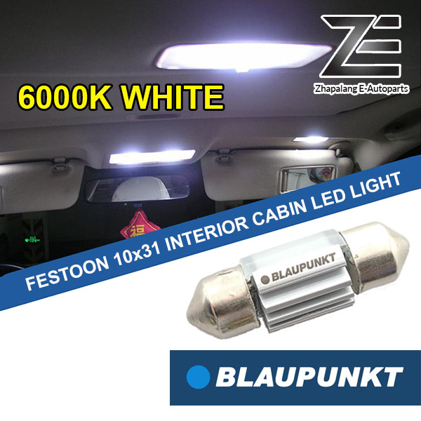 Blaupunkt Festoon 10x31 LED Interior Cabin Room Reading Light 131060W