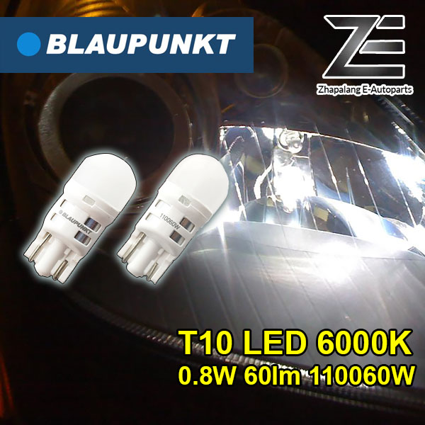 Blaupunkt T10 6000K LED Indicator Lamp - 110060W | 12V Vehicle Lighting