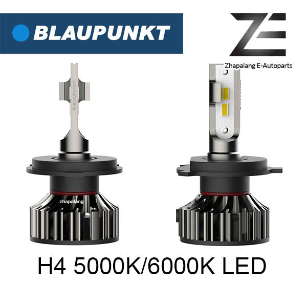 Blaupunkt H4 5000K/6000K LED Headlamp 12V Vehicle Lighting 123450W/123460W | Suitable for Reflector Light
