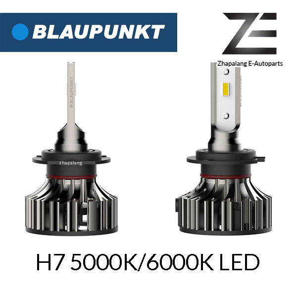 Blaupunkt H7 5000K/6000K LED Headlamp 12V Vehicle Lighting 197250W/197260W | For Reflector and Fog Light