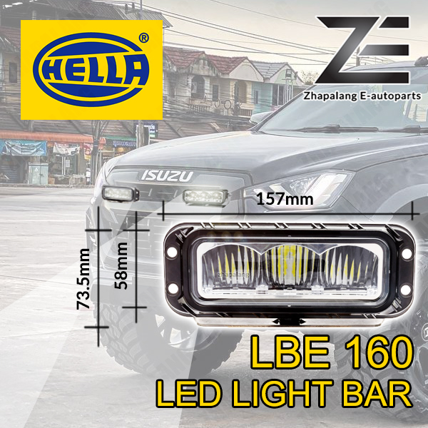 HELLA LBE 160 LED Light Bar - 1FE358154011(LBE160) - Image 1