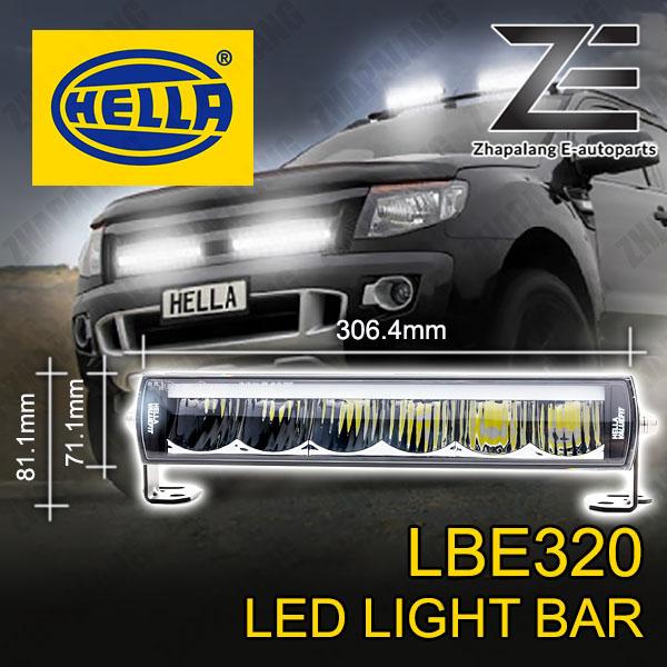 HELLA LBE 320 LED Light Bar w/ DRL - 1FE 358 154 001(LBE320) - Image 1