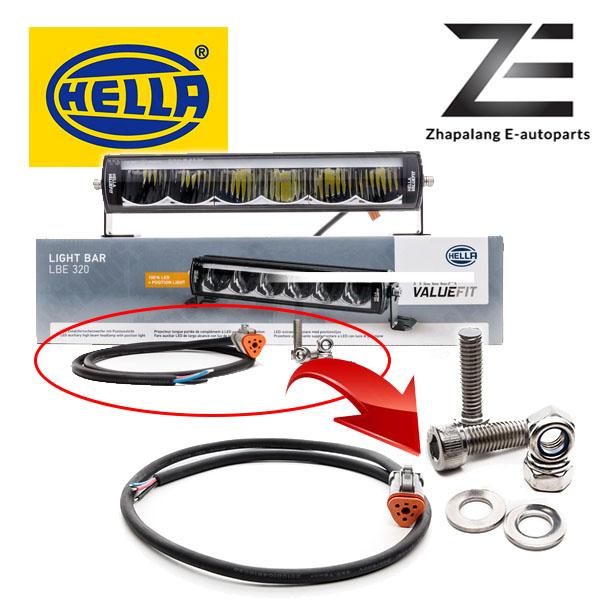 HELLA LBE 320 LED Light Bar w/ DRL - 1FE 358 154 001(LBE320) - Image 4