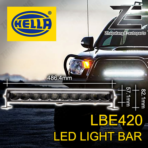 HELLA LBE 480 LED Light Bar w/ DRL - 1FE 358 154 021(LBE480)