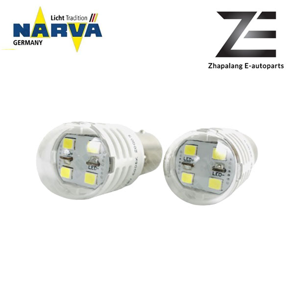 NARVA P21W S25 12V LED Signaling Light Bulb White 18089 - Image 2