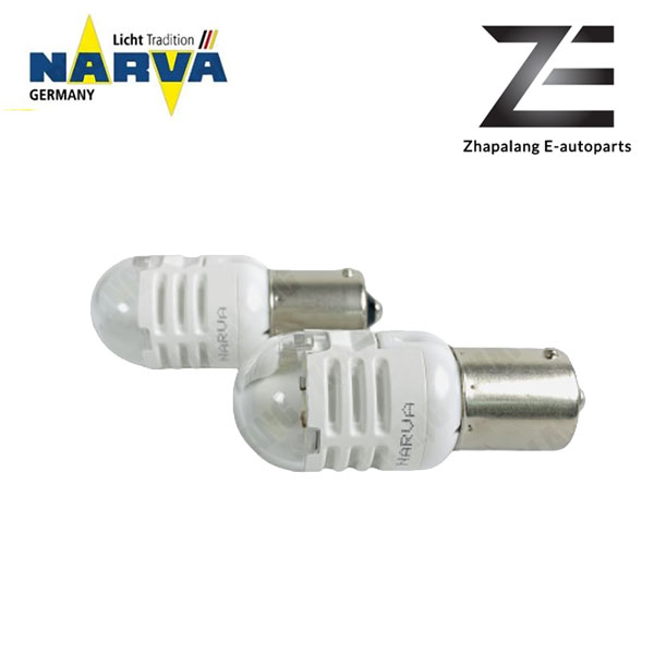 NARVA P21W S25 12V LED Signaling Light Bulb White 18089 - Image 3