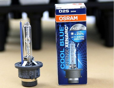 OSRAM XENARC HID 5500K D2S (Bulb Only) - Cool Blue Color