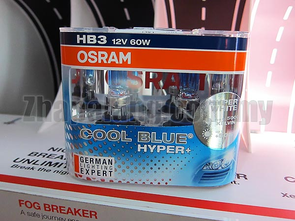 Osram Cool Blue Hyper 5000k Blueish White 60W HB3/9005