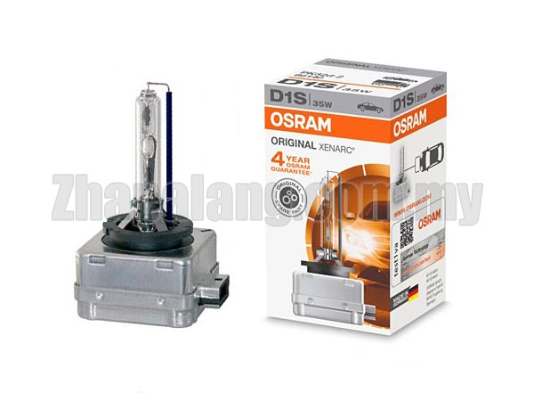 Osram D1S Xenarc 66140 HID Xenon Replacement Bulb 4500k