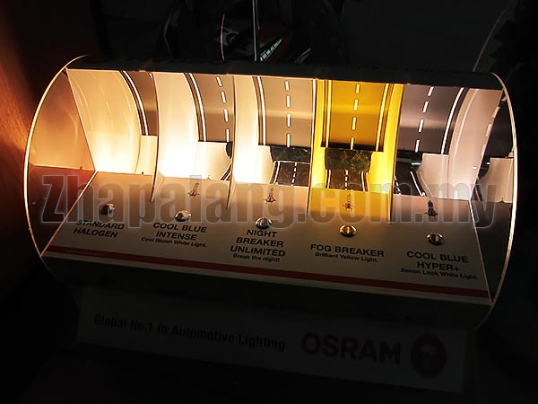 Osram Cool Blue Intense 12v 55w 4200K H11 - Image 2