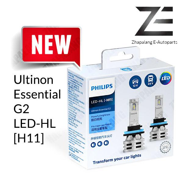 Philips G2 H11 Ultinon Essential LED Headlight Bulb 11362UE2X2 LED-HL