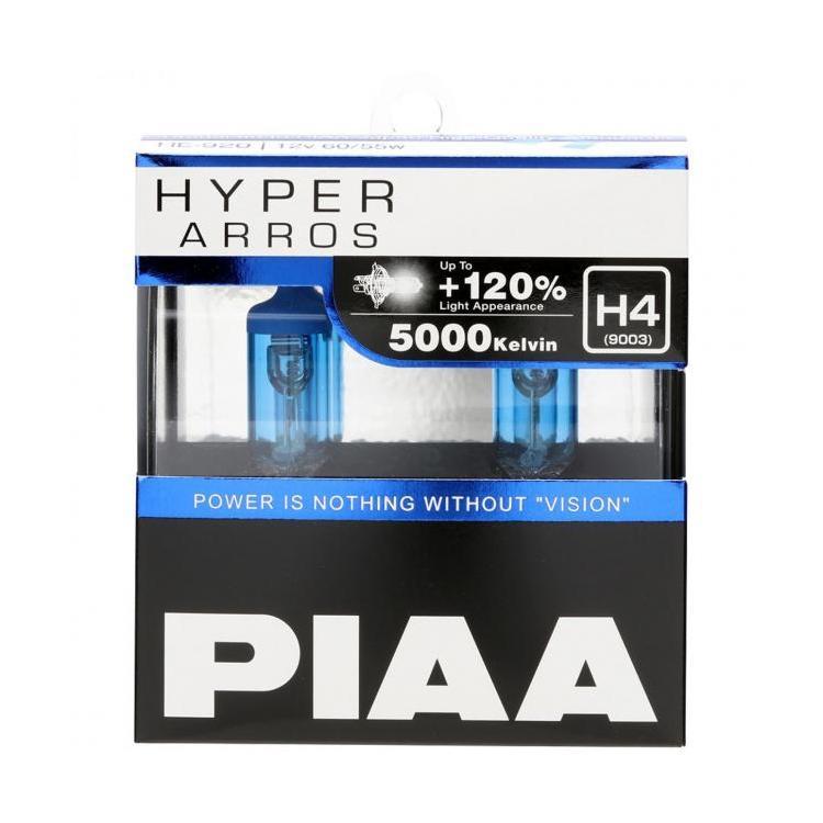 HYPER ARROS 5000K Series +120% Halogen Bulb H1