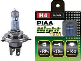 PIAA Night Tech Series 3600K Yellow Halogen Bulb H1
