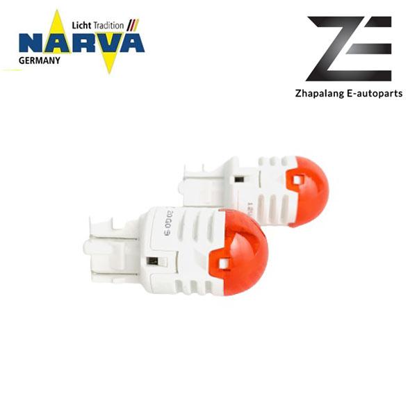 NARVA T20 W21/5W 12V LED Signaling Light Bulb Red 18106 - Image 4
