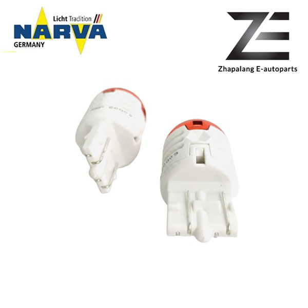 NARVA T20 W21/5W 12V LED Signaling Light Bulb Red 18106 - Image 5