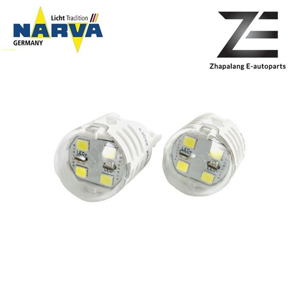 NARVA T20 W21W 12V LED Signaling Light Bulb White 18099 - Image 2