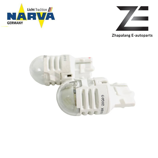 NARVA T20 W21W 12V LED Signaling Light Bulb White 18099 - Image 3
