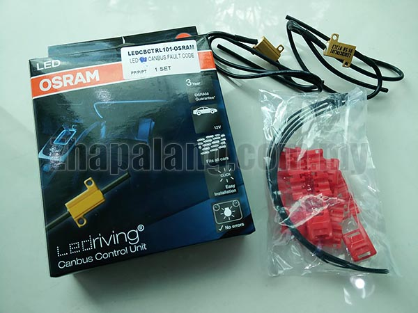Osram Canbus Control Unit Resistor Kit Fault Code Canceller (Pair)