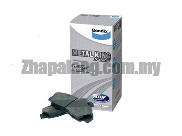 Bendix Metal King Titanium(MKT) Performance Brake Pads Perodua Myvi Lagi Best 1.3/1.5 - Front
