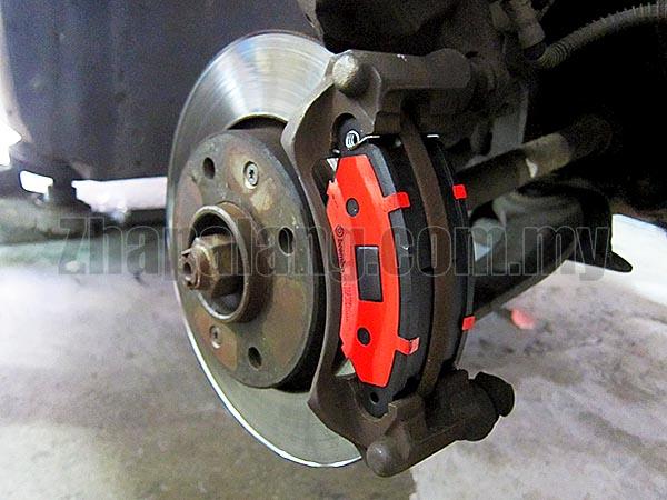 Brembo Standard Brake Pads for Peugeot 206 Bestari