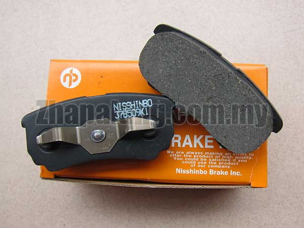 Nisshinbo Rear Brake Pad for Proton Inspira 1.8/2.0