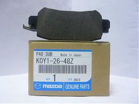Original Rear Disc Brake Pad K0Y12648Z for Mazda CX5 '12-ON