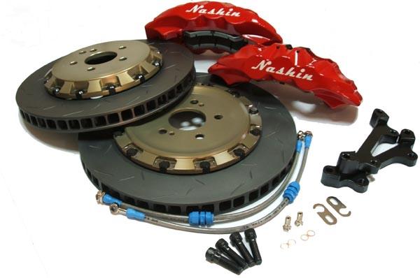 Project S/Nashin N3 Monobloc - 4 Pot Caliper for Toyota Mark X/Lexus IS250 345mm