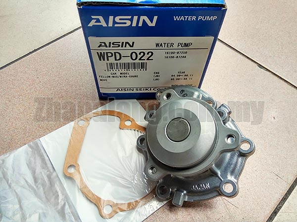Aisin WPD-022 Water Pump for Mira L2