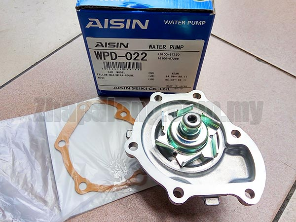 Aisin WPD-022 Water Pump for Mira L2 - Image 2