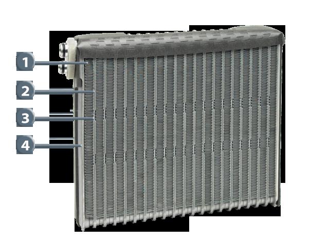 Denso Cooling Coil / Evaporator for Perodua Kelisa