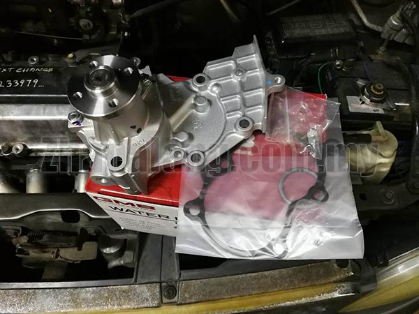 GMB Water Pump for Perodua Kelisa/Kenari with Housing - Image 1