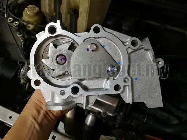 GMB Water Pump for Perodua Kelisa/Kenari with Housing - Image 2