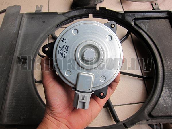 Motor Fan Radiator Denso 168000-2570 12V Proton Gen2