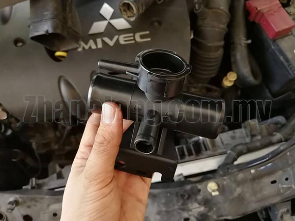 Aftermarket Proton Inspira Water Fill In Radiator Adaptor