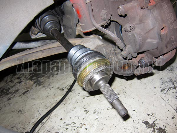 NKN CV Joints for Toyota Estima TCR21W w/ABS, 4WD, 4ATM, 2400cc 2TZ-FE, 90/5- - Image 4